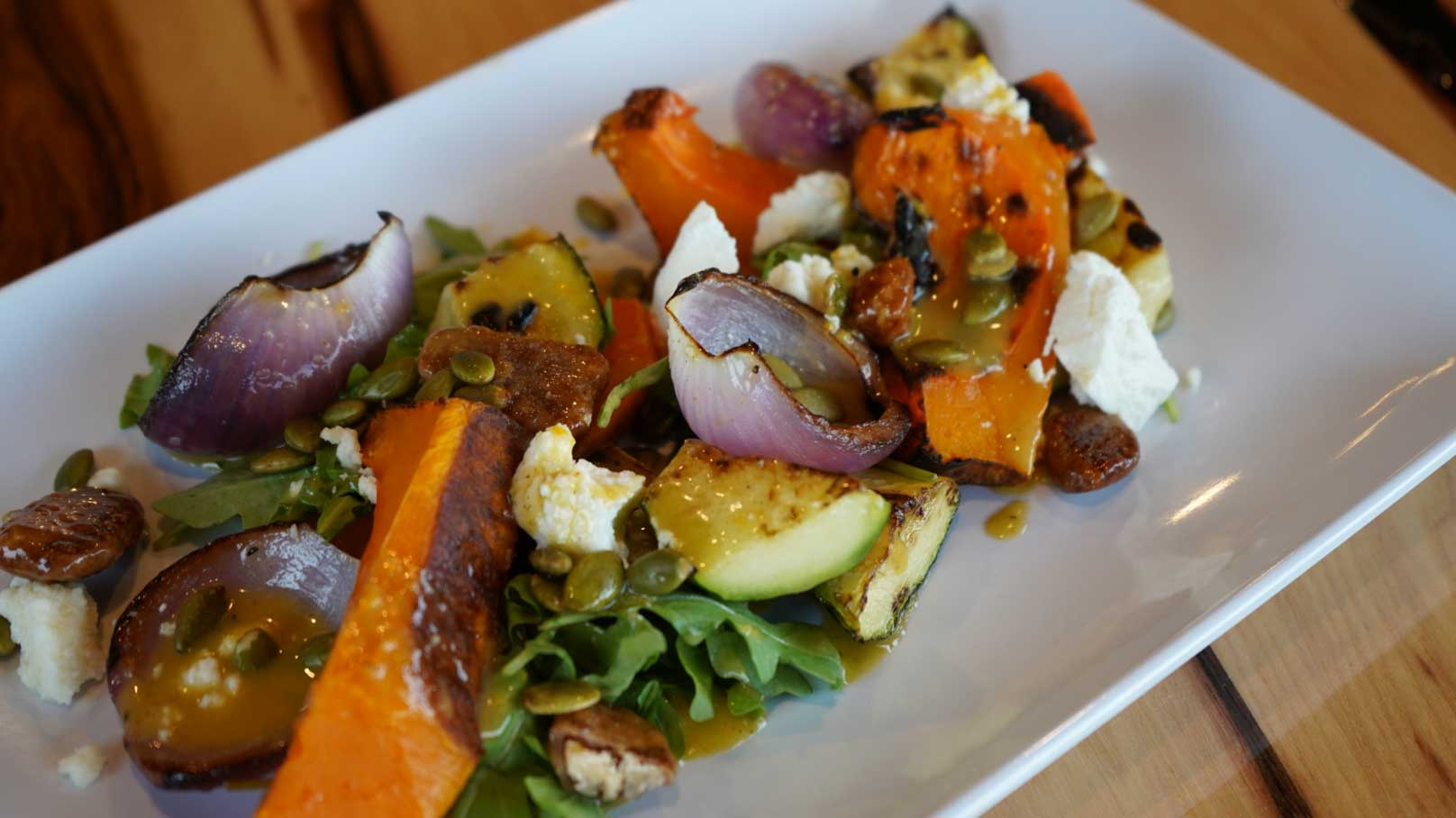 Charred Fall Salad